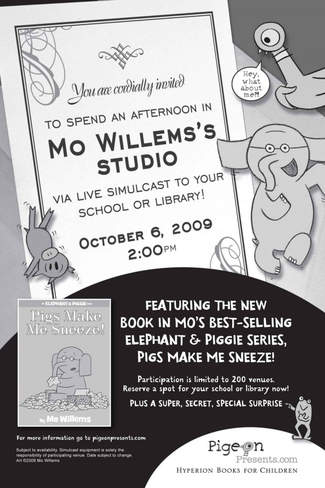 mo willems flyer