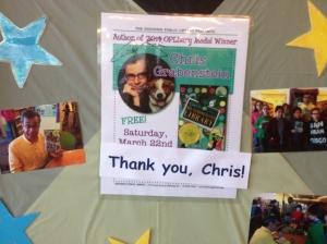 Thank You Chris!