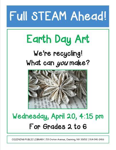 STEAM earth day 2016 flyer jpeg
